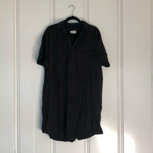 Universal Thread Faded Black Utility Dress